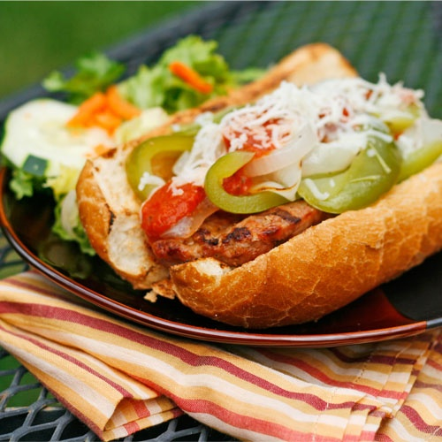 Turkey Sausage Sandwiches Recipe — Dishmaps
