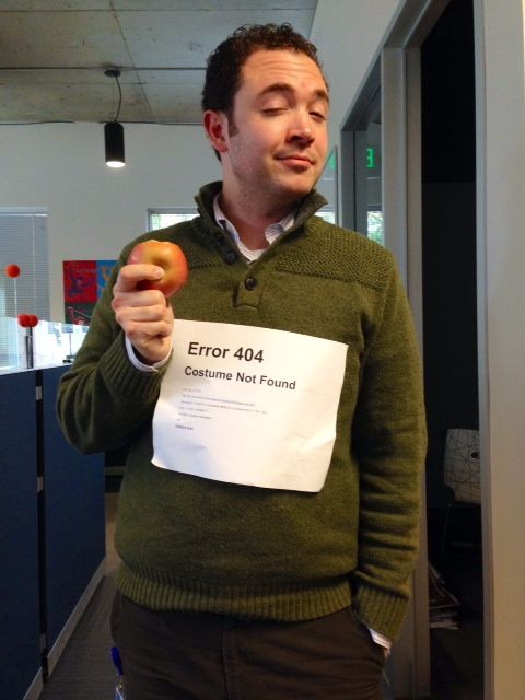 Office #Halloween Costume - Error 404 - Costume Not Found
