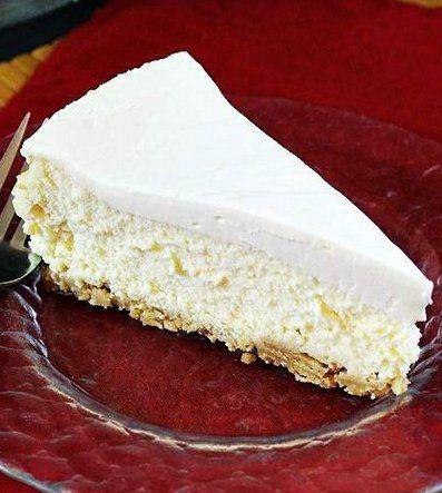 Classic Sour Cream Cheesecake | Recipe