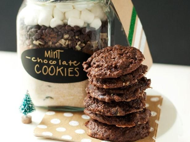 Mint-Chocolate Cookies | Recipe
