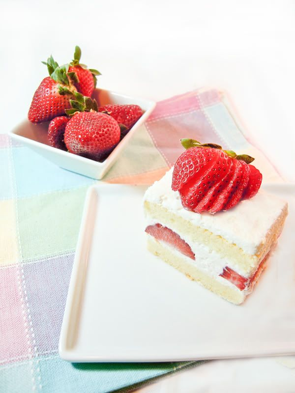 Japanese Strawberry Shortcake | Cookery | Pinterest