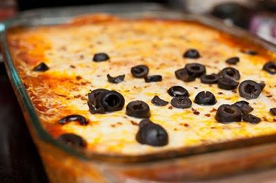 Beef Enchilada Casserole. | Kitchen: Savories | Pinterest