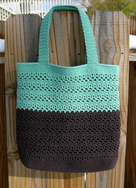 Crochet Craft Bag : market bag crochet craft-ideas crochet Pinterest