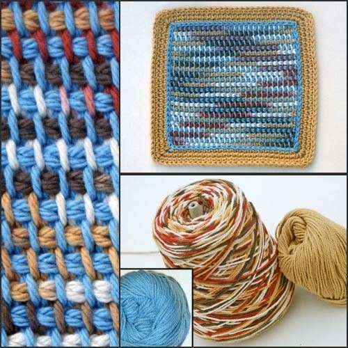 Crochet Patterns Variegated Yarn : afghan stitch & variegated yarn Crochet Pinterest