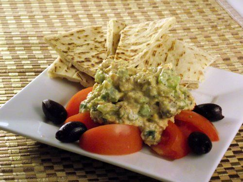 Vegan Tuna Salad, also served this over left-over red quinoa and it ...