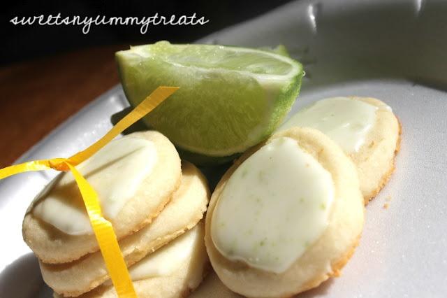 Key Lime shortbread cookies!   Cookies   Pinterest