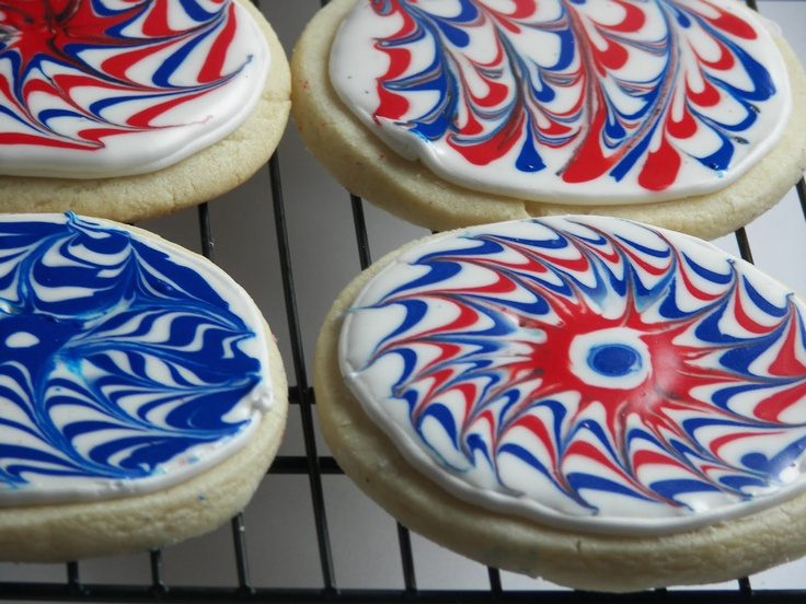 Fireworks Cookies | 4th of July/Summer | Pinterest