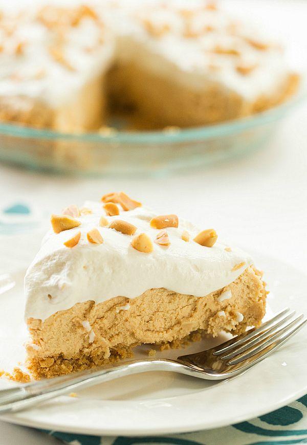No-Bake Peanut Butter Lover's Pie
