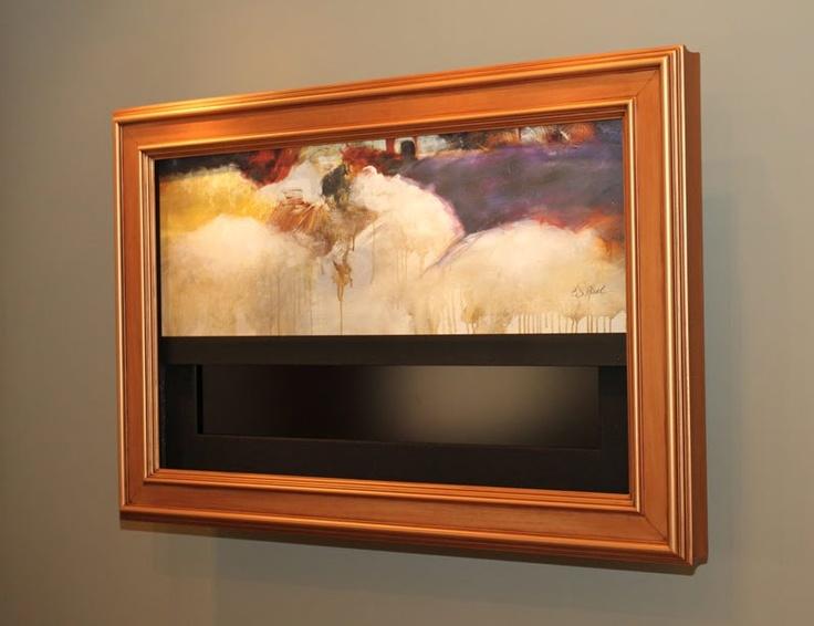 Tv Hidden Behind Art Brilliant Hide The Blasted T V