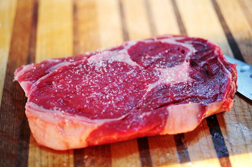 Grilled Ribeye Steak with Onion-Blue Cheese Sauce | The Pioneer Woman ...