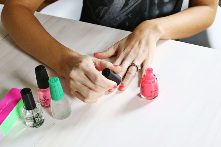 DIY: Gel Manicure at Home | Hair & Makeup for me. | Pinterest