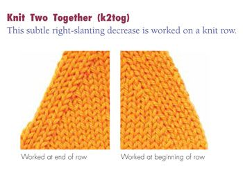 How To Decrease The Number Of Stitches In Knitting : Pin by Alba on Knit & Crochet Pinterest