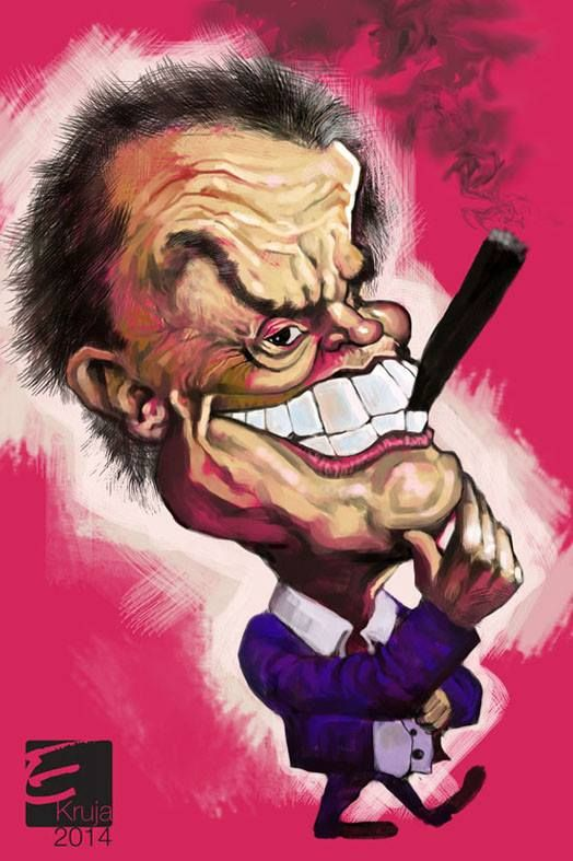 Jack Nicholson caricat...