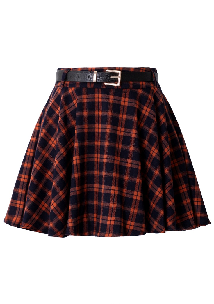 Fuck a plaid skirt the