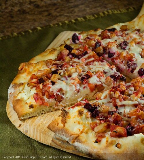 Roasted Root Vegetable Pizza | I Am So Making This! | Pinterest