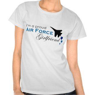 Proud Air Force Girlfriend Shirts 81