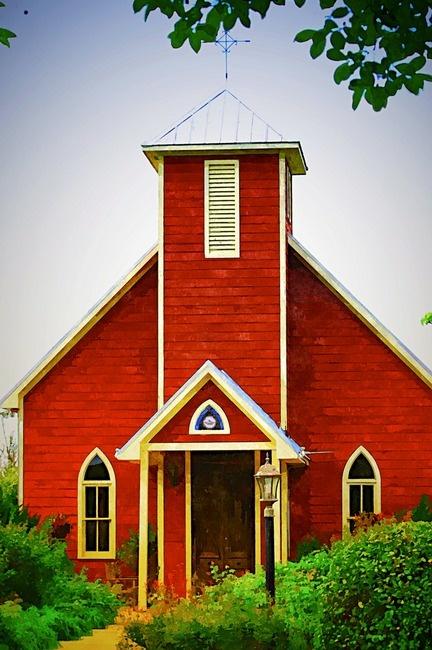 """Little Red Church""  B3e14b377dcec23c3d218f2b546baf15"