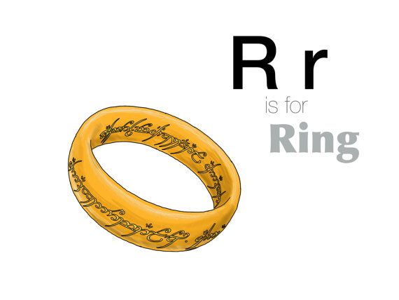 R Is For Ring R is for Ring