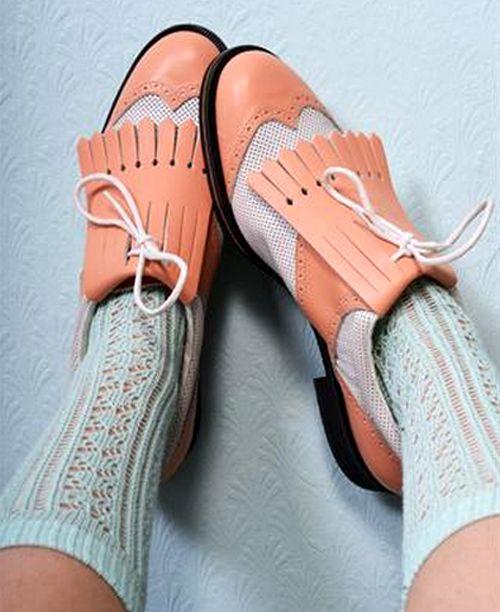 Adorable golf shoes