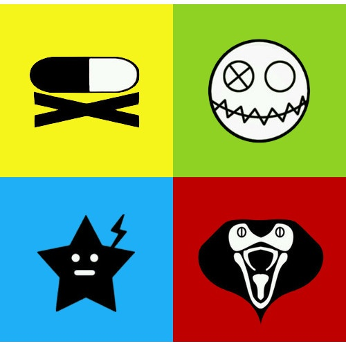 Party Poison, Fun Ghoul, Jet Star, Kobra Kid