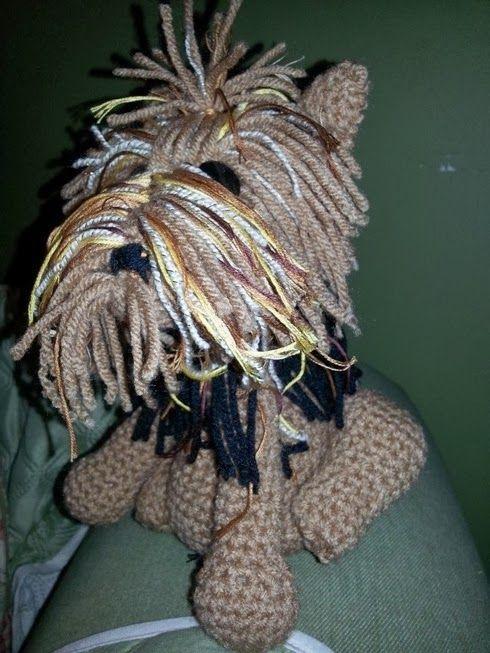 Free Crochet Patterns For Yorkies : Maria Js Yorkie, free pattern Crochet Pinterest