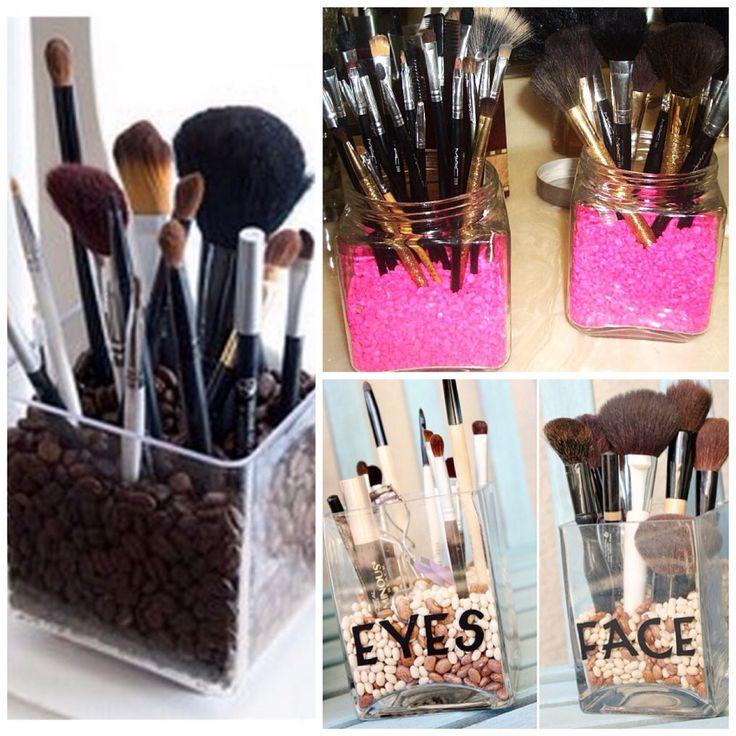 Makeup Organizing Ideas DIY Clothes Crafts Pinterest