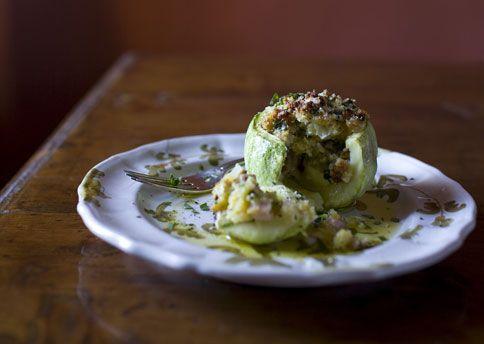 parmesan zucchini with parmesan and garlic chili oil parmesan stuffed ...