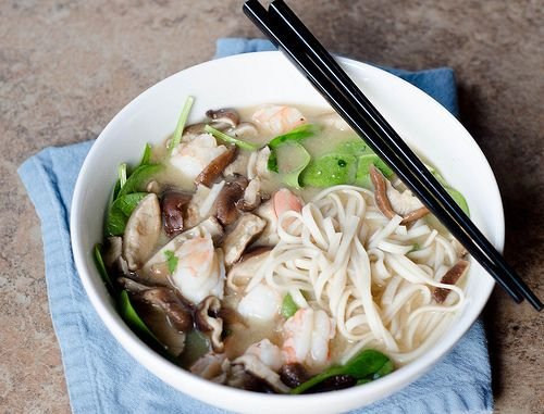 noodle soup seafood miso noodle soup steamy kitchen recipes miso soup ...