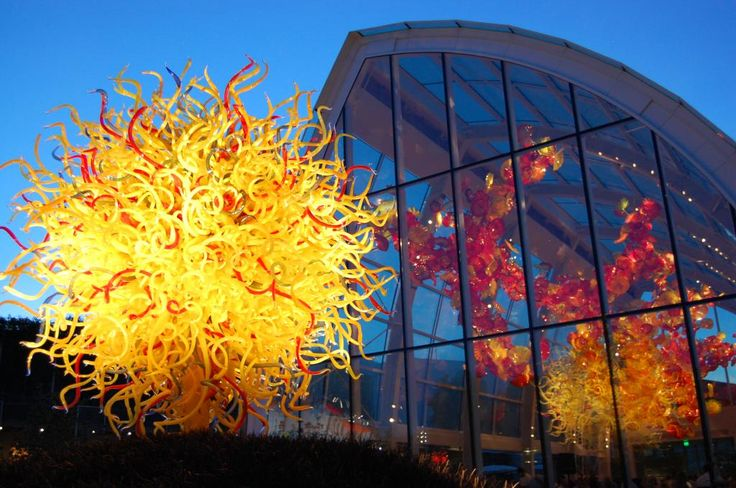 Chihuly Glass Garden Seattle Chihuly Pinterest
