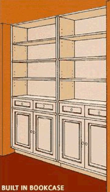 Diy Wall Unit Plans : How to build a recessed wall unit diy home projects