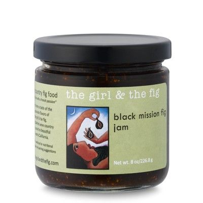 The Girl & The Fig Black Mission Fig Jam #williamssonoma
