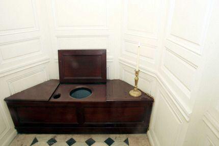 Marie Antoniette's toilet in the Petit Trianon