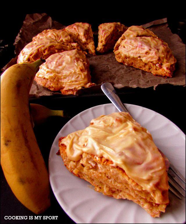Banana Bread Scones | Cooking Is My Sport | Pinterest