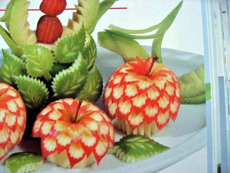 Decoraci n con frutas creaciones para el hogar pinterest - Decoracion de frutas ...