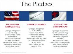 of Allegiance, Pledge to the Christian Flag, Pledge to the Bible ...