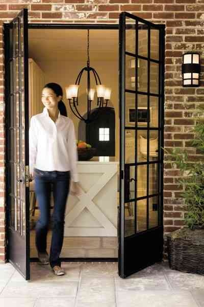 French doors that open out doorways pinterest for French doors that open out