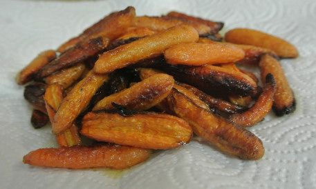 Roasted Baby Carrots | DIY pet recipes | Pinterest