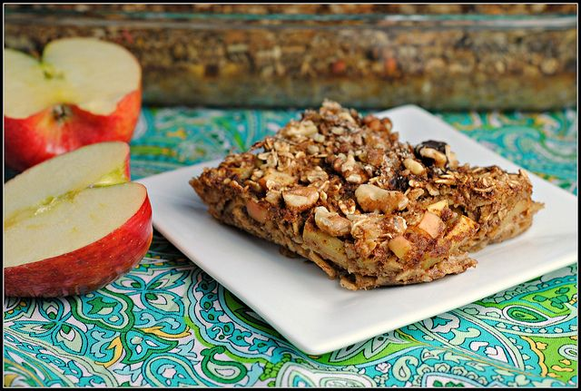 Apple Cinnamon Baked Oatmeal | Recipe Ideas - Breakfast | Pinterest