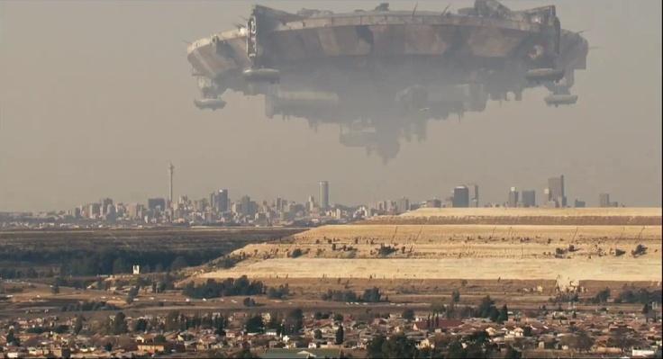 Aliens over Joburg
