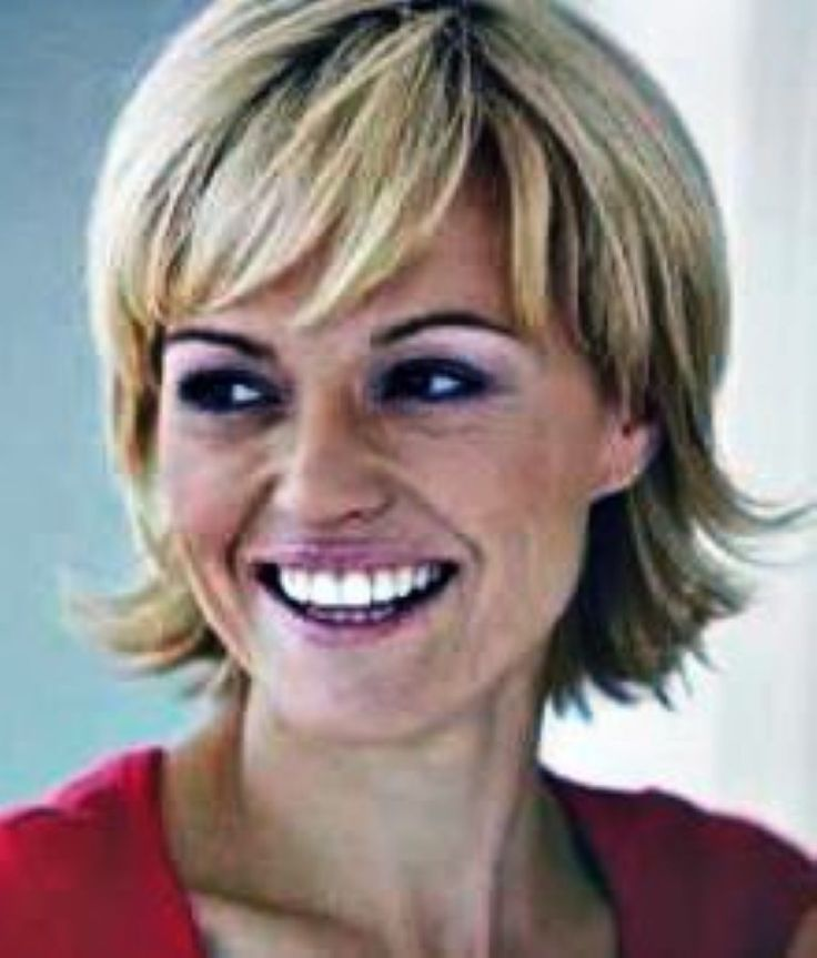 Middle-Aged Women Hairstyles Short
