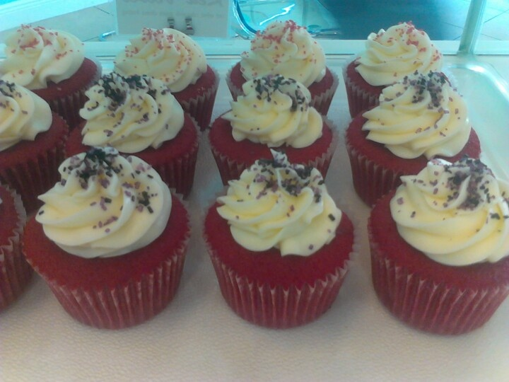 Red Velvet Cupcakes! | Cupcake art @ work! | Pinterest