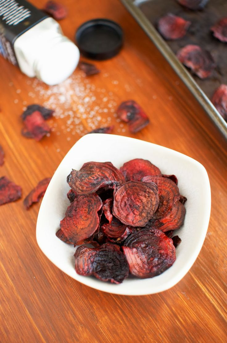 More like this: baked beet chips , baked beets and chips .