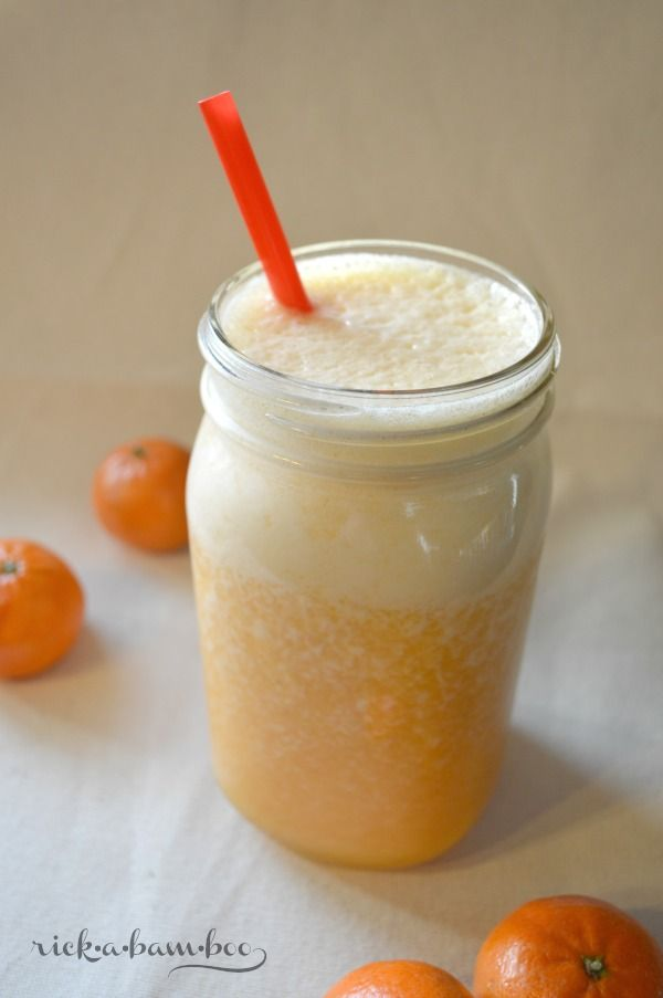 Creamsicle Smoothie | Recipies | Pinterest