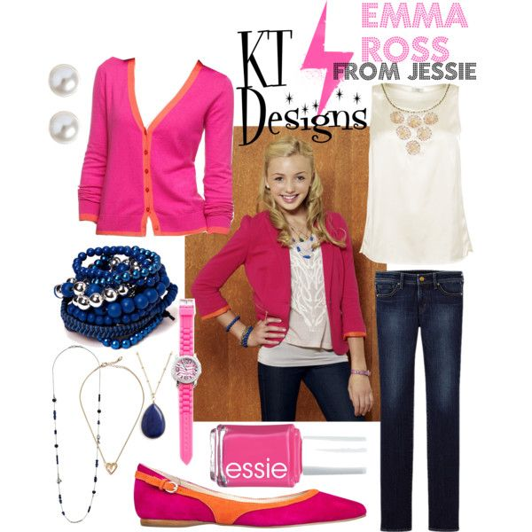 Emma Ross Jessie Outfits  quot emma ross quot  by ktdesigns-1 onEmma Ross Outfits On Jessie