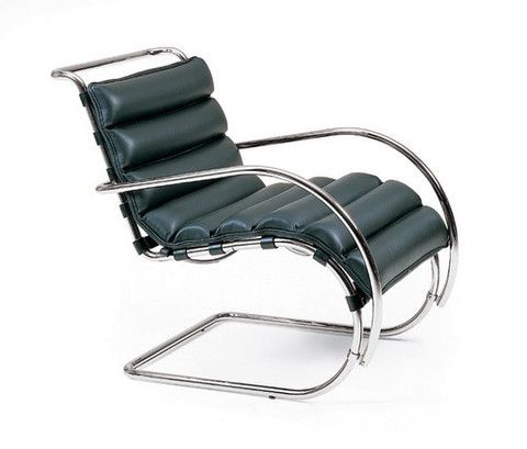 mies van der rohe lounge chair chairs pinterest