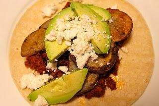 chorizo, potato & avocado tacos | Recipes | Pinterest