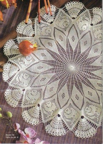 crochet modele gratuit napperon only new crochet patterns. Black Bedroom Furniture Sets. Home Design Ideas