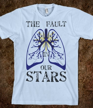 Fault  Stars on The Fault In Our Stars Tshirt   Lust List