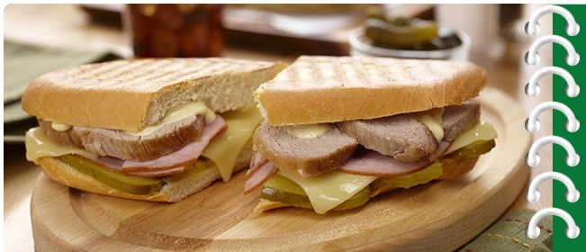 Grilled Cuban Style Sandwich | Gourmet Sandwiches | Pinterest