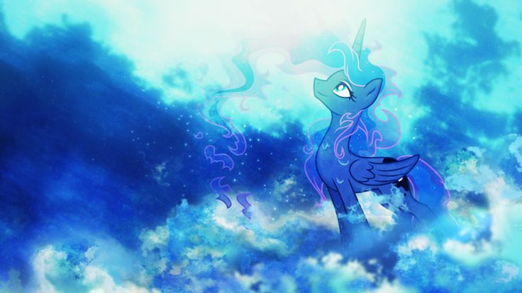 Mlp princess luna desktop wallpaper princess luna - Princess luna screensaver ...